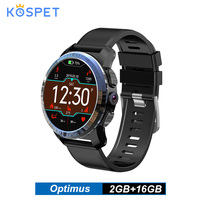 Kospet Optimus 4G Smartwatch Dual System Android 7.1 8.0MP Camera Android Smart Watch Phone Men 800mA WiFi GPS 2GB RAM 16GB ROM