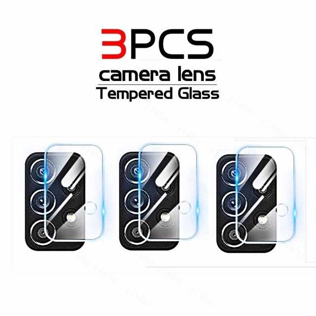 3Pcs Camera Gehard Glas Voor Samsung Galaxy A52 A72 5G A526B A726B A525F A725F Een 52 72 42 32 A12 Beschermende Screen Protector