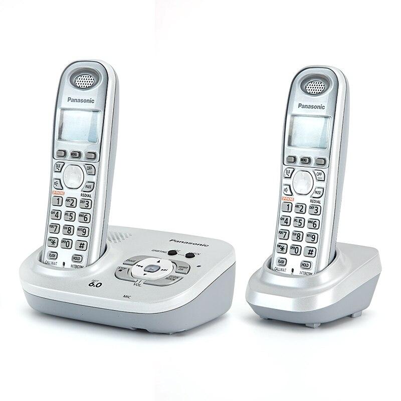 Цифровой беспроводной телефон с функцией ответа, бесконтактная голосовая почта, ЖК-дисплей с подсветкой, беспроводной телефон для офиса, до...