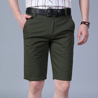 Summer thin stretch casual shorts Fashion straight pants 1HB