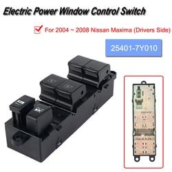 Elektryczne mistrz okno sterowania przełącznik przycisk podnośnik dla 2004 ~ 2008 Nissan Maxima (po stronie kierowcy) w Inteligentny system zamykania okien od Samochody i motocykle na