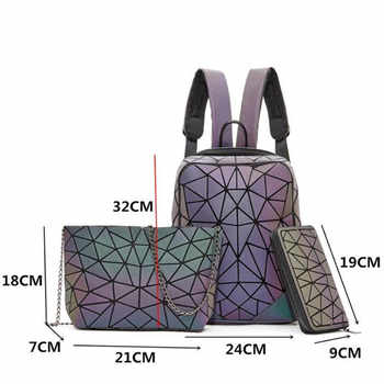 New Luminous Backpacks For Women 2020 set Travel Backpacks Lady Daily backbag Mochilas Female Shoulder Bag Boys Girsl Backpacks
