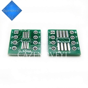 20pcs/lot TSSOP8 SSOP8 SOP8 to DIP8 PCB SOP-8 SOP Transfer Board DIP Pin Board Pitch Adapter