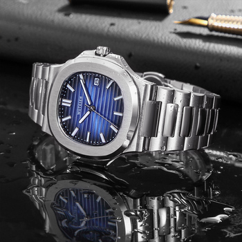 2020 Men Top Sports Brand Luxury Watch Male Military Quartz watch Analog Date Clock steel luminous hand patek watch AAA nautilus