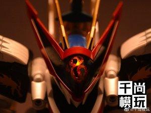 Image 4 - モデルファン INSTOCK qianshang モデル qs01 Ryuoumaru 含有 led ライト金属布アクションフィギュア玩具