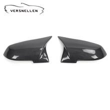 AN Style Carbon Mirror Caps Replacement OEM Fitment for BMW F20 F22 F23 F30 F32 F33 F36 F87 M2 X1  Carbon Side Mirror M logo universal replacement carbon fiber mirror cover for bmw rearview door mirror covers x1 f20 f22 f30 gt f34 f32 f33 f36 m2 f87 e84