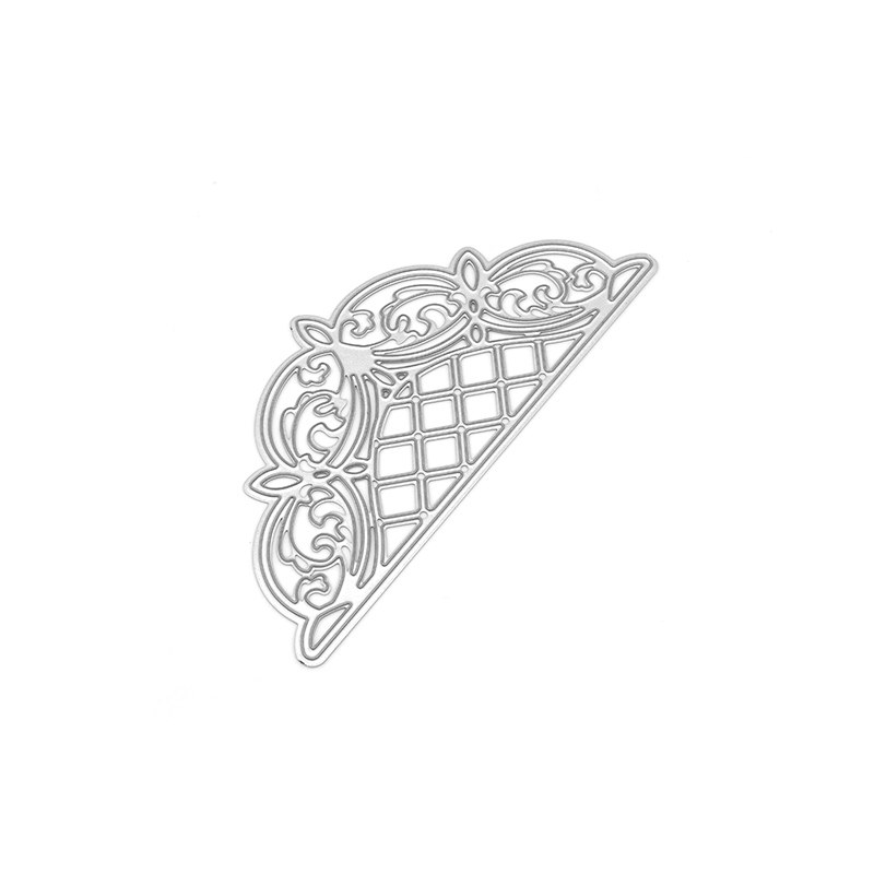 Lattice Arched Adornment Metal Cutting Dies tags Craft Dies Cut for Scrapbooking Photo Album Decorative Paper Cards Making