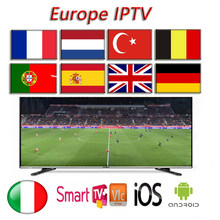 Smart iptv list subscription IPTV for 3900+channels premium support pc Android ios smart tv(China)