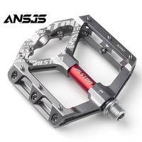 Ansjs Beauty Star Bike Pedals Bicycle Pedals 9/16 Inch Spindle Universal Cycling Pedals Aluminium Alloy Lightweight Bike Pedals Bicycle Pedal     -