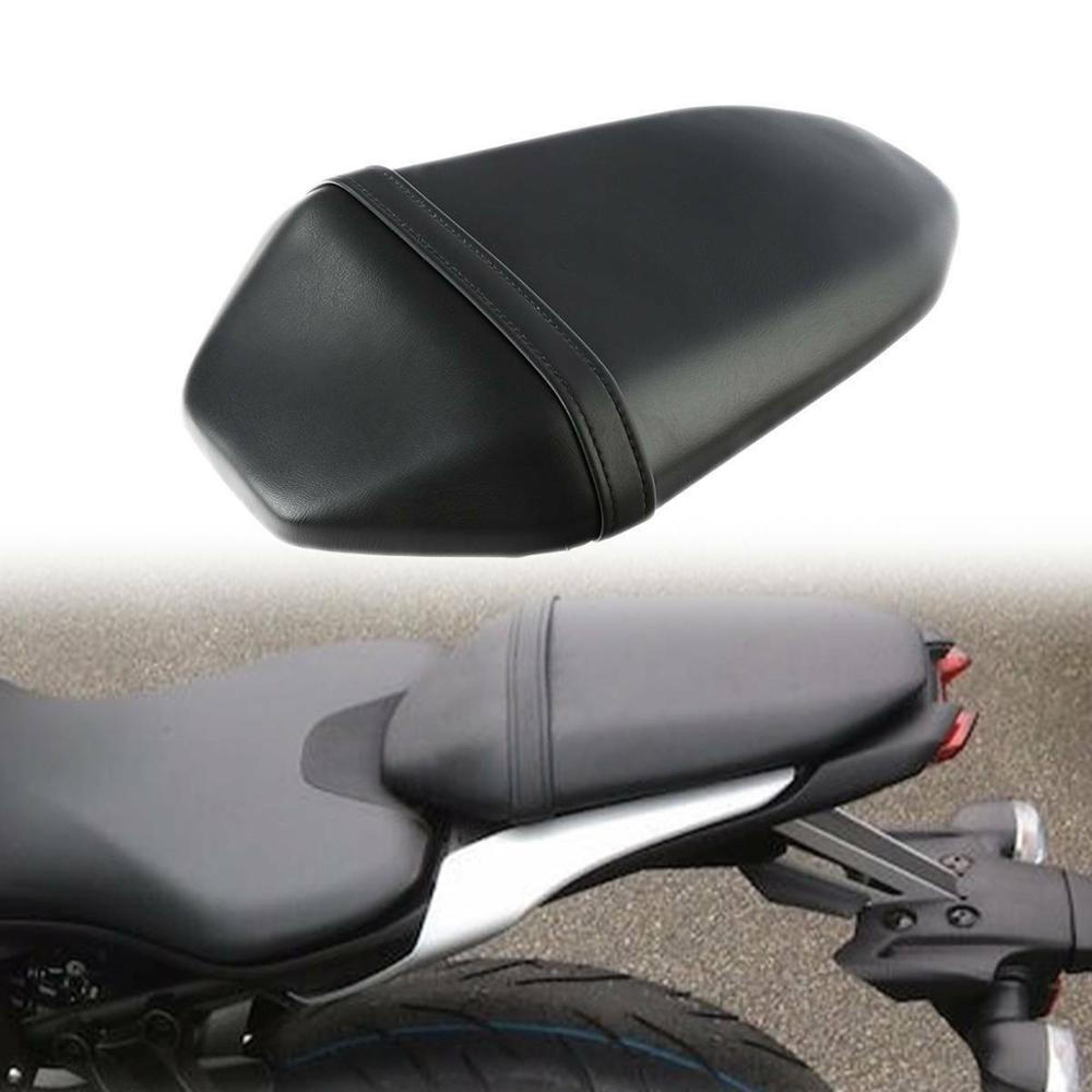 Motorcycle Black Rear Passenger Pillion Seat For Yamaha MT 07 MT-07 2018 2019 Black