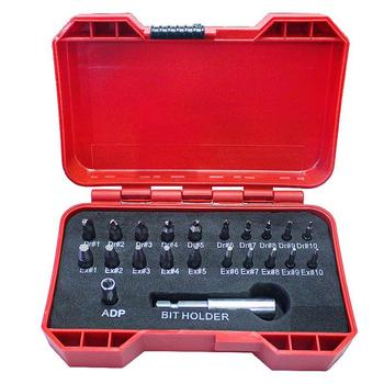 цена на 22Pcs Extractor Screwdriver Remover Purpose Tools Disassemble Screws Bolt Stud Slip Teeth Damaged Demolish Stripped Broken