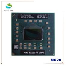 AMD Turion II Ultra Mobile M620 Processor 2.50GHz 2MB L2 Cache Socket S1 (S1g3) PGA638 M620 TMM620DBO23GQ TMM620 Laptop CPU