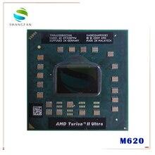 معالج أيه إم دي توريون II ألترا M620 2.50 جيجاهرتز 2 ميجا بايت L2 مقبس مخبأ S1 (S1g3) PGA638 M620 TMM620DBO23GQ TMM620 وحدة معالجة مركزية للكمبيوتر المحمول