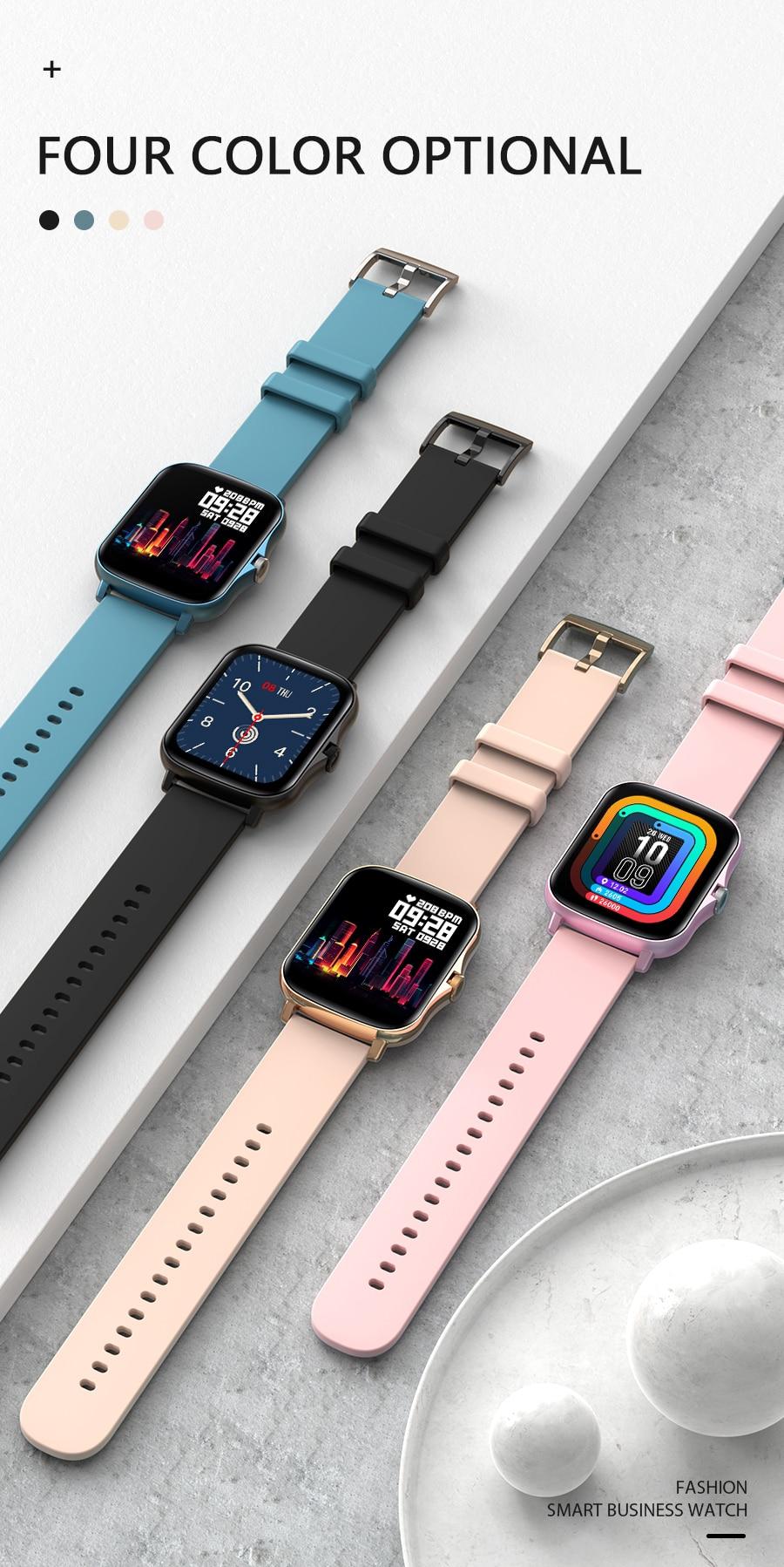 H32a7a026a8814d49aeaf3f27e206faadX Full Touch Y20 Sport Smart Watch Men Women IP68 custom dial Heart Rate Fitness Tracker Smartwatch wristwatch GTS 2 P8 plus