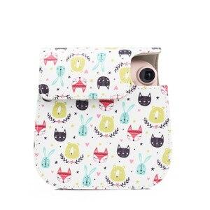 Image 5 - Fujifilm – sac à bandoulière en cuir PU pour appareil photo Instax Mini 11 9 8, joli Animal, Mini Film pour appareil photo instantané, housse de protection