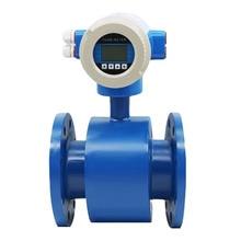 Electromagnetic flow meter side sewage flow meter electromagnetic flow meter measuring instrument