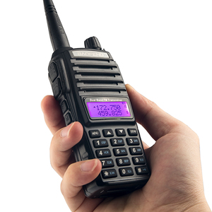 Image 5 - 2 pièces BaoFeng UV 82 talkie walkie 5W 8 W U/V Baofeng UV 82 casque talkie walkie 10 KM Baofeng UV82 8 watt Radios uv 9r jambon radio