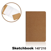 цена на 140*210 Cowhide Paper Sketchbook Bullet Journal Cute Notebook Paper Weekly Planner Accessories Stationery Diary Agenda Travel