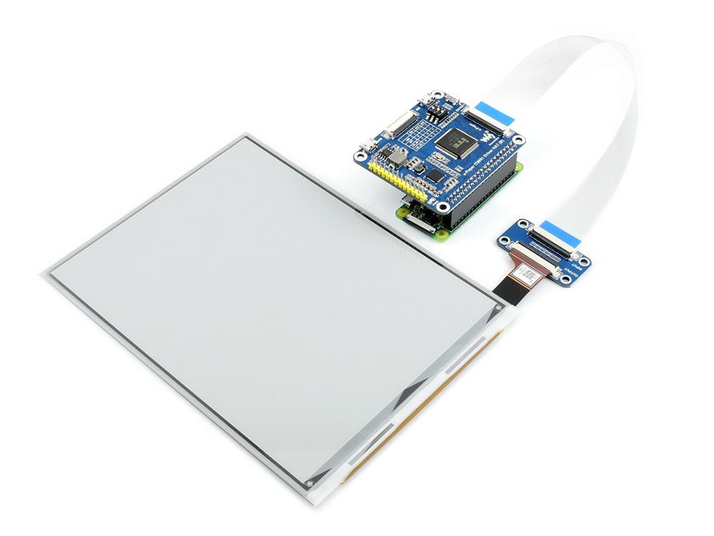 Image 2 - Waveshare 7.8inch E Ink display HAT for Raspberry Pi, 1872*1404 resolution,IT8951 controller, USB/SPI/I80/I2C interfaceDemo Board   -