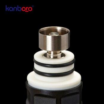 Kanboro ecube Boost – cigarette électronique à base d'herbes sèches, vaporisateur de cire pour ongles, kit Portable