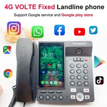 4G VOLTE landline Wireless Big Screen Android 7.0 Google play store Global version Phone multi-Language  Smart Phone