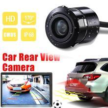 Камера заднего вида Камера ИК объектив Ночное видение Реверсивный Камера автоматической парковки резервную копию монитор Водонепроницаемый HD широкий угол обзора