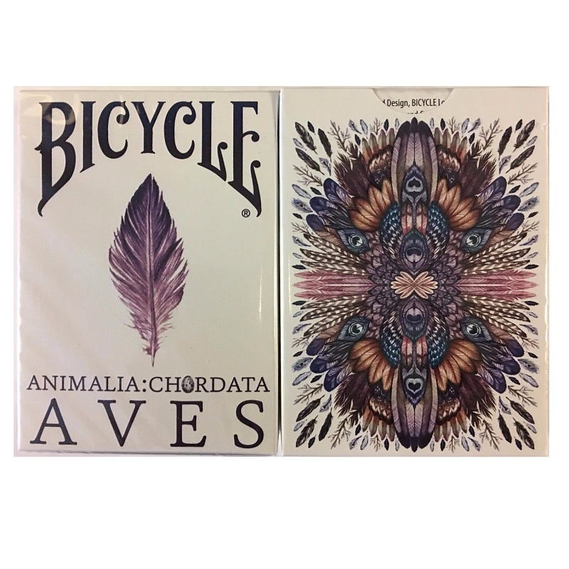 bicycle-aves-uncaged-playing-cards-animalia-chordata-deck-uspcc-font-b-poker-b-font-magic-card-games-magic-tricks-props-for-magician