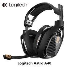 Logitech a40 fone de ouvido jogos fones de ouvido com microphonefor pc mac ps4 xbox e-sports players