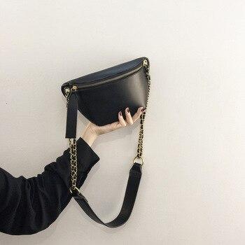 Classic fanny pack for women Leather Waist Pack female Belt Bag Designer women chest bag Fashion purse shoulder bags waist bag