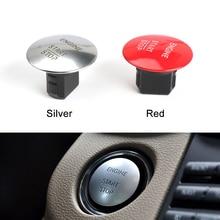 אוניברסלי רכב Keyless Go Start Stop לחצן מנוע הצתה מתג מפתח עבור מרצדס בנץ W204 W205 W212 W164 W166 w221