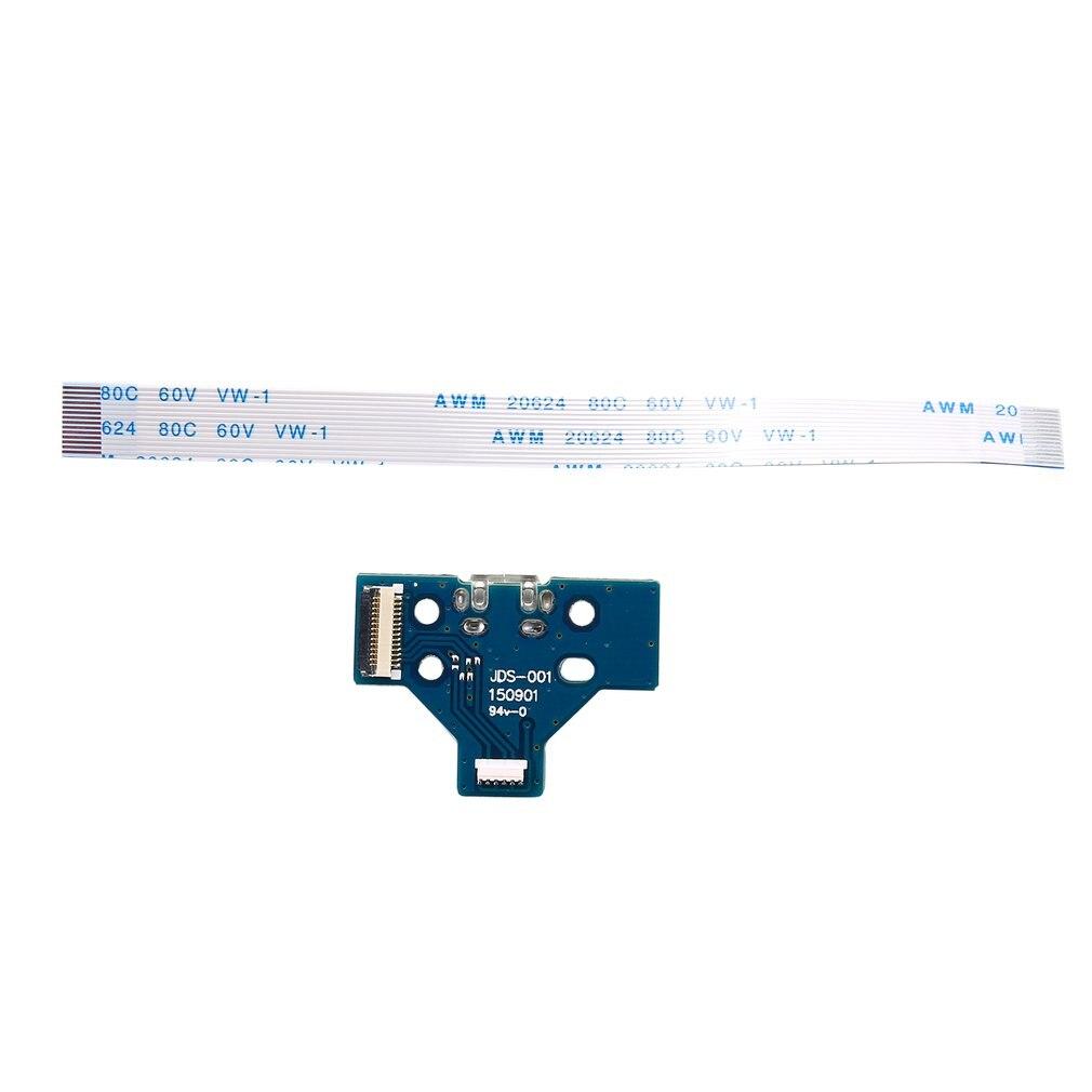 USB Charging Port Socket Board JDS-001/JDS-011/JDS-030/JDS-040/JDS-055 For PS4 Controller Dualshock With 12/14 Pin Flex Cable