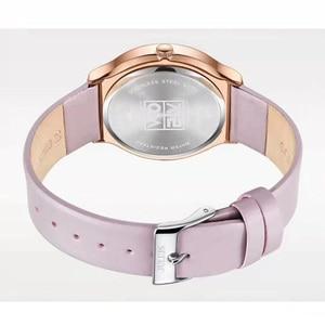 Image 4 - Nouvelle élégante montre pour femme Julius japon Movt Hours mode horloge Bracelet en cuir véritable fille anniversaire noël boîte cadeau