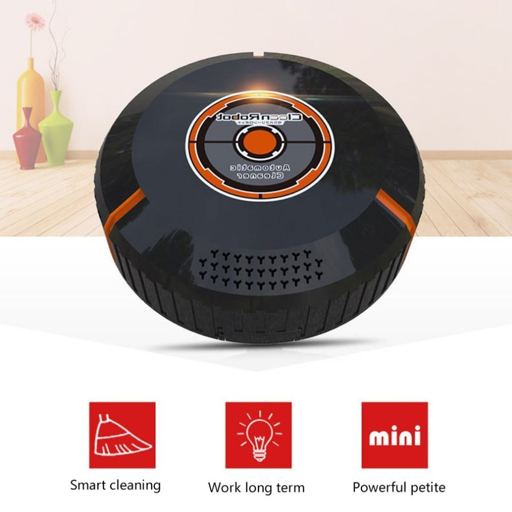 Movable Battery Powered Small Size Smart Household Cleaning Robot Automatic Clean Robots Sweep Robot Device
