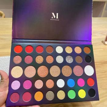 MOF 39 Colors Glitter Matte Eyeshadow Palette Shimmer Powder Disk Waterproof Highlight maquillage rjcvtnbrf