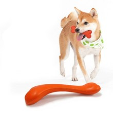 Durable Rubber Dog Toy with Thorn Teeth Molar Pet Bone Resistant Bite  Chew Toys Training