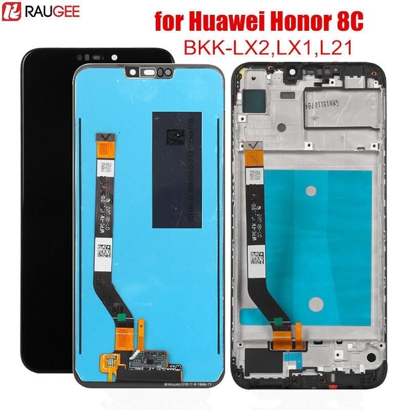 Écran LCD pour Huawei Honor 8C LCD écran tactile numériseur assemblée remplacement pour Honor 8C 8 C 6.26 pouces écran testé affichage