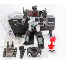 Transformation Toys Action Figure Robot Alloy Mini OP Commander MPP10B With Trailer Roller Flying Backpack Suit Deform Model(China)
