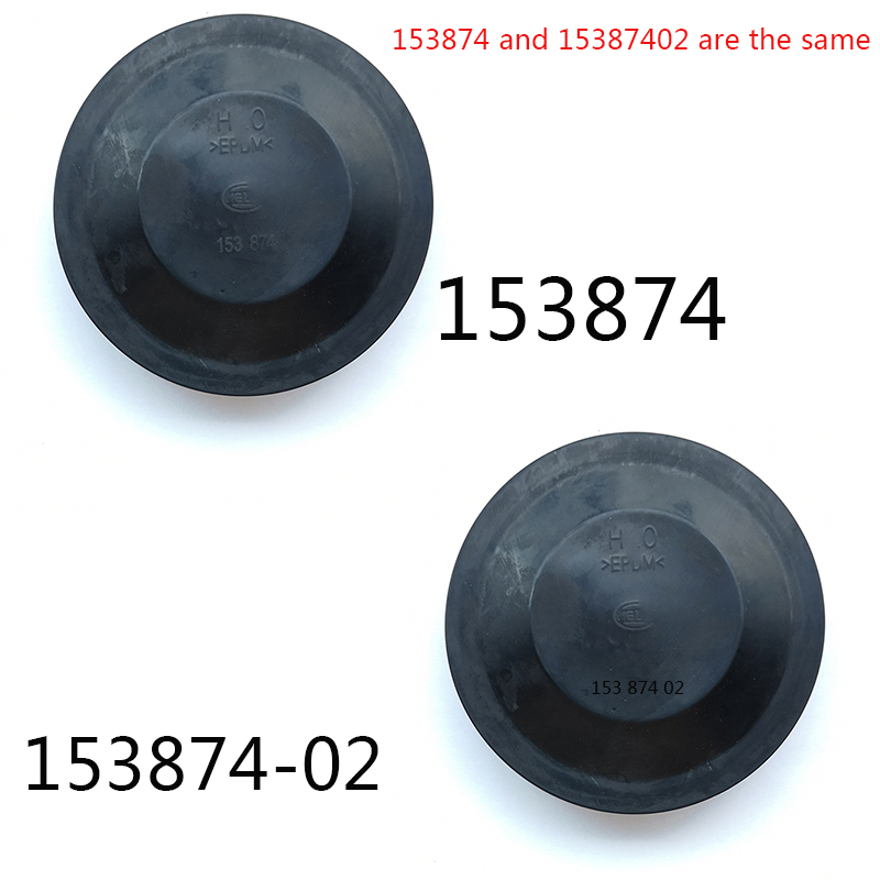 1 Pc Original Rubber Dust Proof Cover Back Caps 155665 153874 153873 101846 35D941607B S00015122 Protective Cover