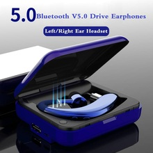Fast Charging Driver Bluetooth Earphone Wireless Headphone Handsfree Earbud Headset With HD Mic For Phone iPhone xiaomi Samsung