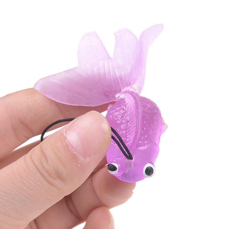 Вечерние Брелоки для ключей в виде кошелька, любимого подарка, высокое качество, брелок для ключей в виде милой золотой рыбки, красочная Рыбка, милый очаровательный кулон