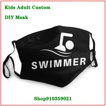 New Arrival Swimmer-Gifts For Swimming Coaches Or Fans Who Love To Swim masque facial lavable face mask designer