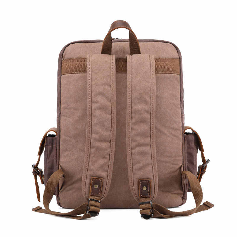 Uupperway винтажные масляные Вощеные холщовые рюкзаки мужские рюкзаки для ноутбука кофе армейский зеленый Crazy Horse кожаный чехол повседневные дорожные сумки