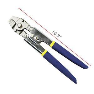 Image 5 - De acero inoxidable alicates de pesca de la cuerda de alambre de herramienta que prensa con 150 Uds puntera para prensa set de bucle para engarzadores y prensa mangas también