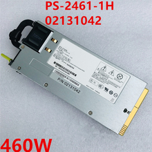 New PSU For Huawei RH1288 2285 2288 V2 V3 460W Power Supply PS-2461-1H 02131042