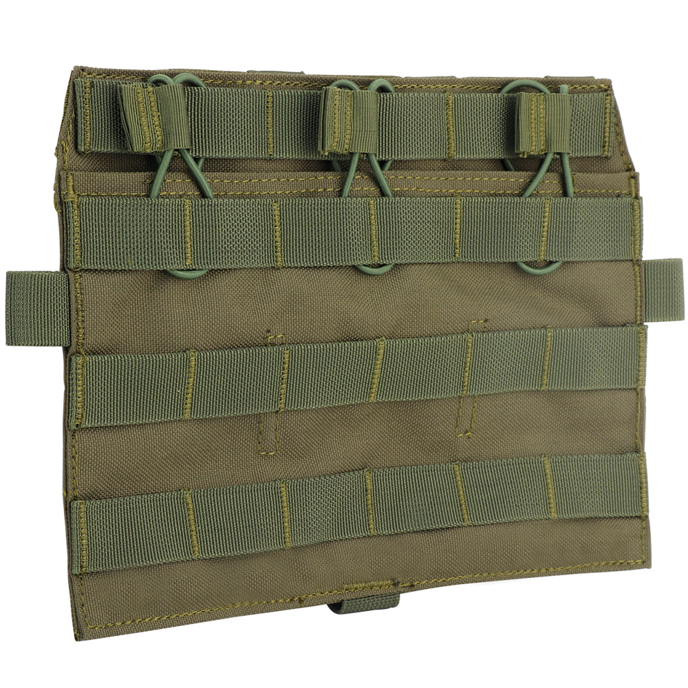 Tactical QD Front Molle Panel Detachable Flap JPC 2.0 AVS Vest System Component Hunting Airsoft Paintball Accessories Nylon