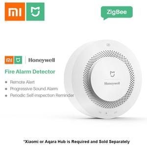 Image 2 - Xiaomi mijiaハネウェル火災警報煙センサーガス検出器ワーク多機能ゲートウェイ2スマートホームセキュリティappコントロール