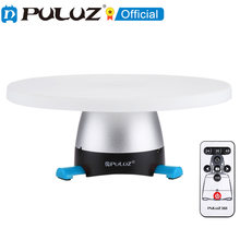 PULUZ electrónica 360 grados de rotación panorámica rótula de bola de trípode bandeja redonda con Control remoto para GoPro cámara DSLR Smartphone