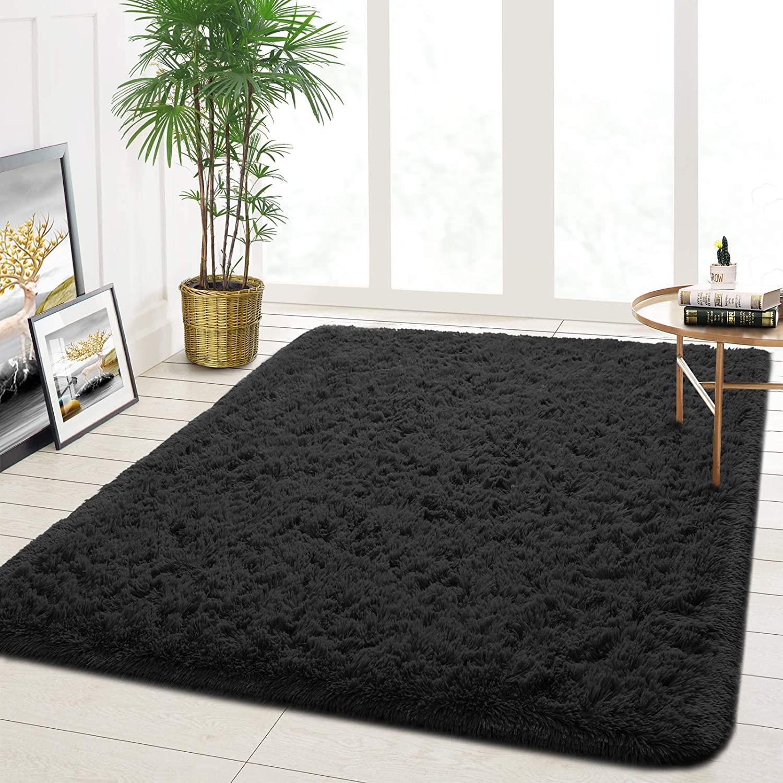 Modern Furry Rugs Large Floor Carpet Dorm Home Decor Rug Bedroom Living Room Carpet Ultra Soft Fluffy Area Rugs Shaggy Rugs