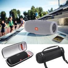 Przenośny futerał do przenoszenia dla JBL CHARGE 4 futerał na głośnik Bluetooth z paskiem na ramię pokrowiec ochronny do głośnika jbl Charge4 tanie tanio Przypadkach Głośnikowych Speaker bags Other EVA Case for JBL Charge 4 Bluetooth Speaker