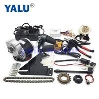 24V 350W Elektrische Fiets Motor Kit E-Bike Drive Systeem Elektrische Throttle Batterij Oplader Gemakkelijk Kit Voor elektrische Gemotoriseerde Fiets